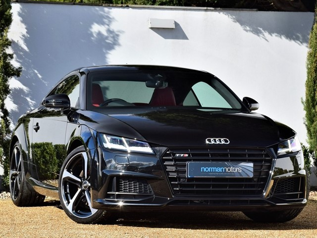 used Audi TTS TFSI QUATTRO BLACK EDITION