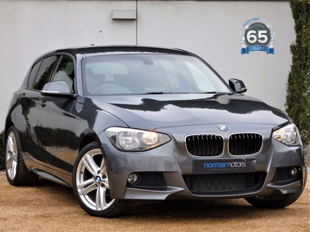 used BMW 116d M SPORT