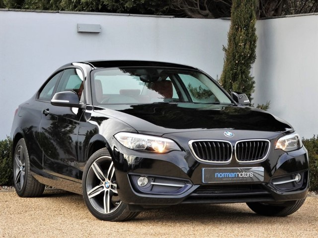 used BMW 218d SPORT