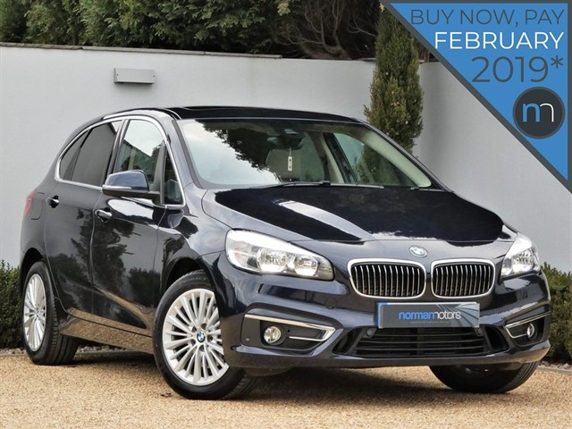 used BMW 220i LUXURY ACTIVE TOURER