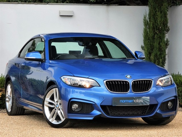 used BMW 220d M SPORT