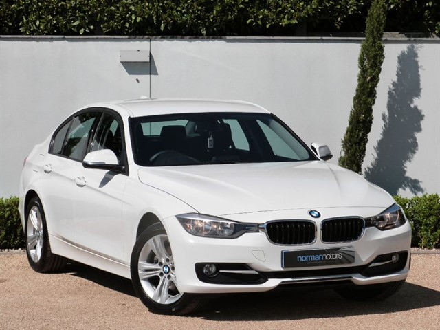 used BMW 320d SPORT