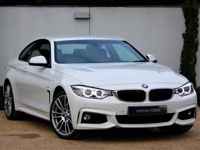used BMW 420d XDRIVE M SPORT