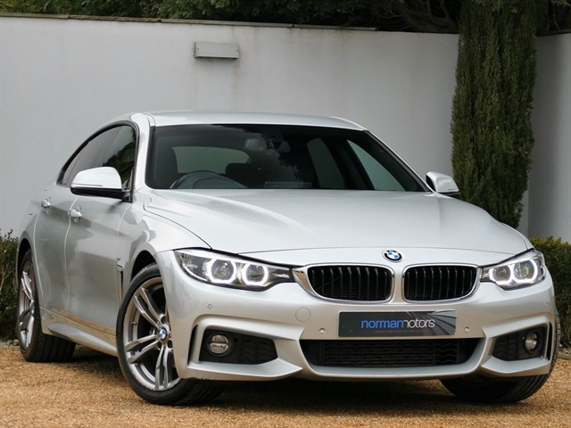 used BMW 420d M SPORT GRAN COUPE