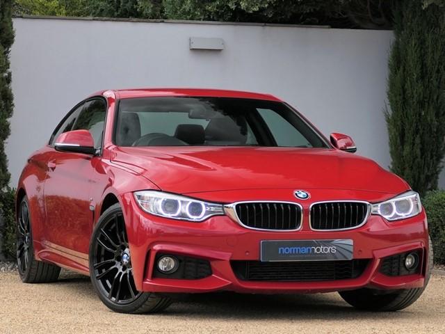 used BMW 420d M SPORT