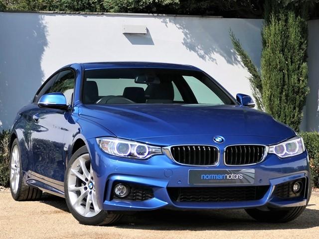 used BMW 430i M Sport