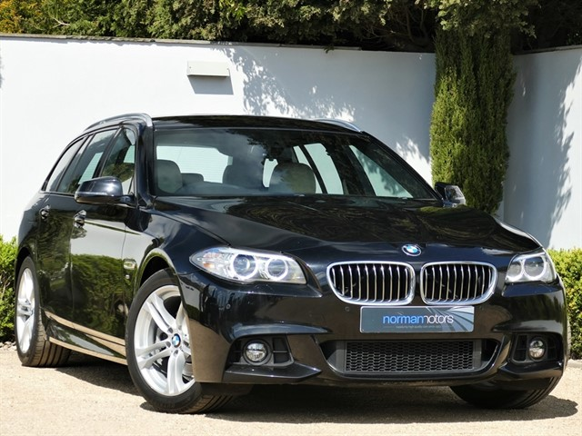 used BMW 520d M SPORT TOURING