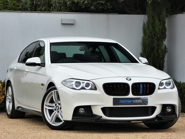 used BMW 520d M SPORT