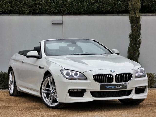 used BMW 640d M SPORT