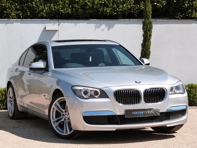 used BMW 740d M SPORT