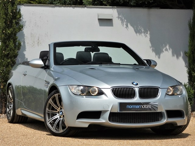 used BMW M3 4.0 V8 CONVERTIBLE