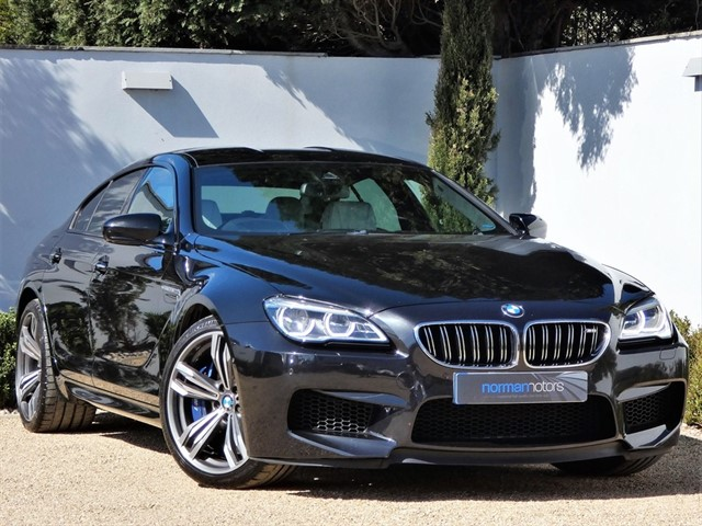used BMW M6 GRAN COUPE