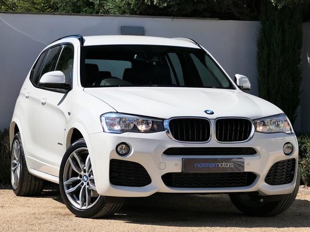 used BMW X3 XDRIVE20D M SPORT