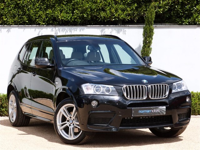used BMW X3 XDRIVE30D M SPORT