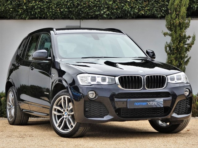used BMW X3 XDRIVE20D M SPORT