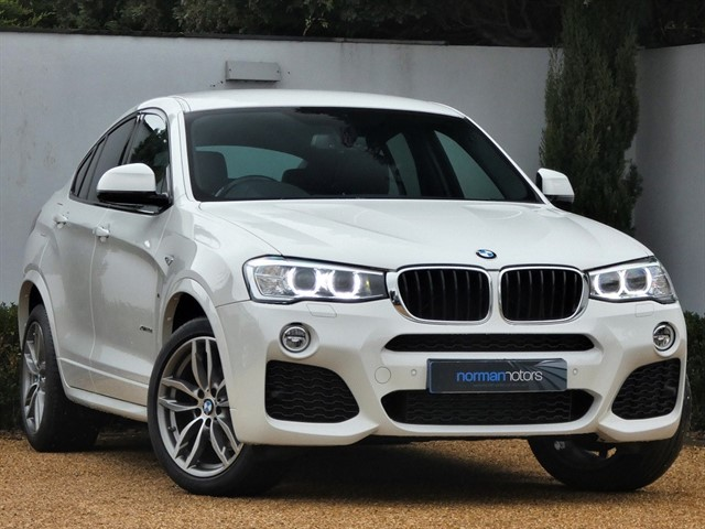 used BMW X4  XDRIVE20D M SPORT