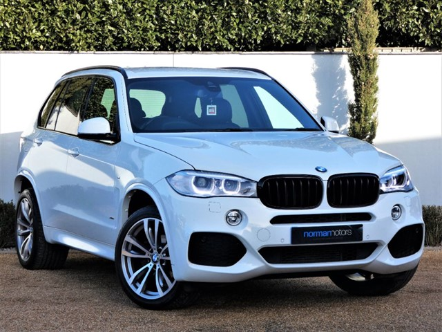 used BMW X5 XDRIVE25D M SPORT