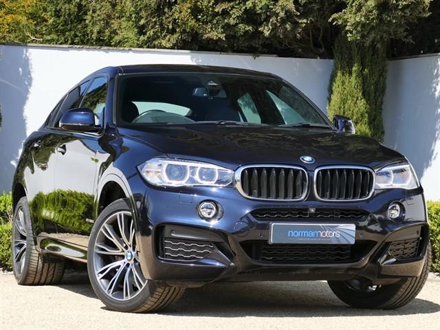 used BMW X6 XDRIVE30D M SPORT XDRIVE