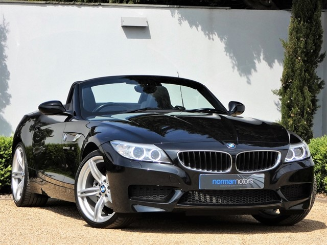 used BMW Z4 SDRIVE20I M SPORT ROADSTER