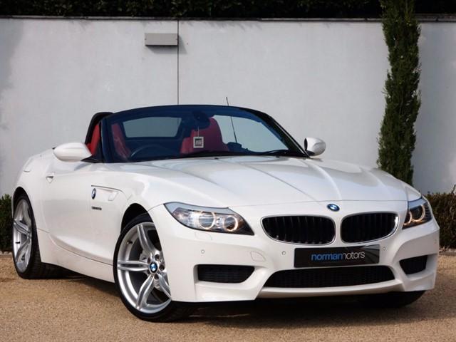 used BMW Z4 SDRIVE20I M SPORT ROADSTER