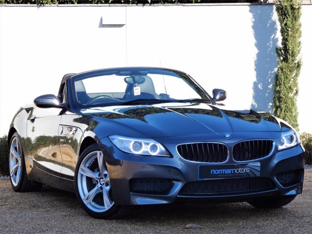 used BMW Z4 SDRIVE18I M SPORT ROADSTER