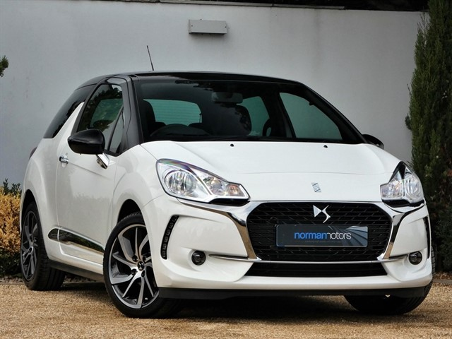 used DS 3 PURETECH CONNECTED CHIC S/S