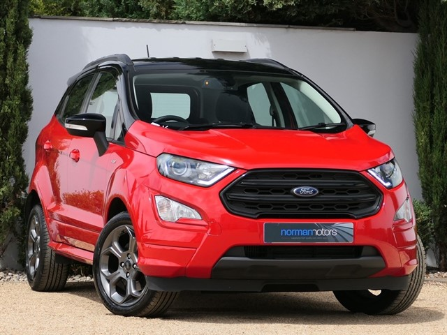 used Ford EcoSport ST-LINE
