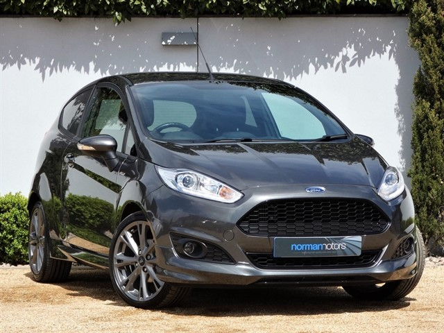 used Ford Fiesta ST-LINE
