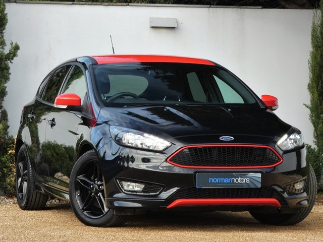 used Ford Focus ZETEC S BLACK EDITION