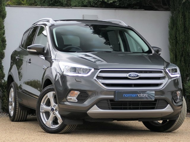 used Ford Kuga 2.0 TDCi Titanium X Powershift AWD