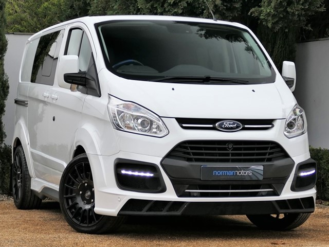 used Ford Transit Custom 2.0 TDCi 310 Limited Double Cab-in-Van