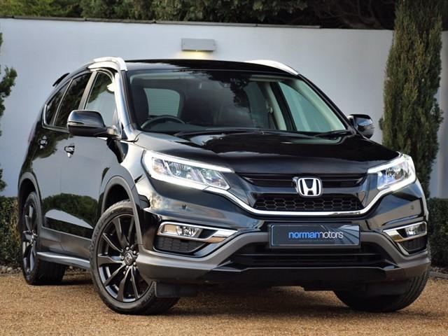 used Honda CR-V I-VTEC BLACK EDITION