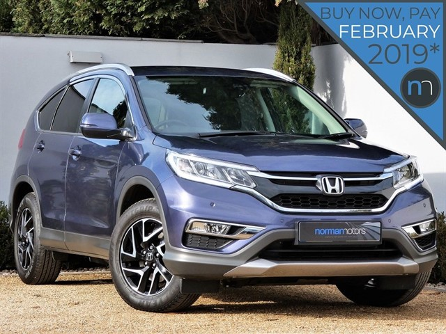 used Honda CR-V I-DTEC SE PLUS NAVI