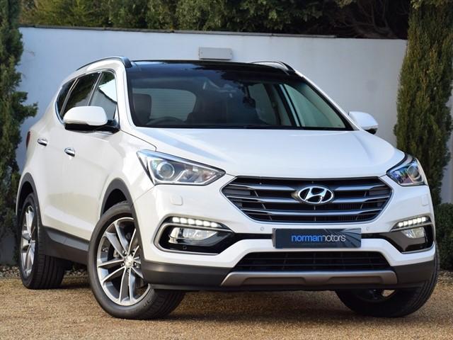 used Hyundai Santa Fe CRDI PREMIUM SE BLUE DRIVE