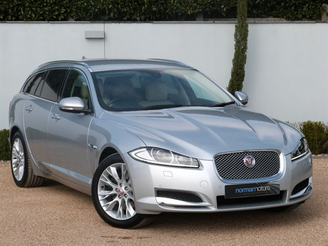 used Jaguar XF D LUXURY SPORTBRAKE