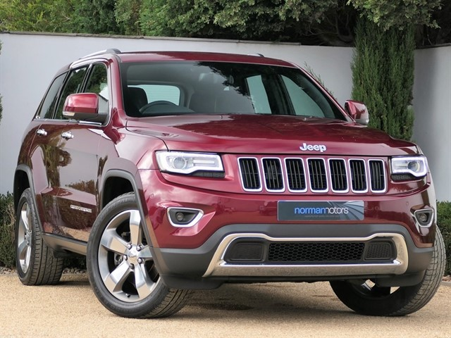 used Jeep Grand Cherokee 3.0 V6 CRD Limited Plus Auto 4WD