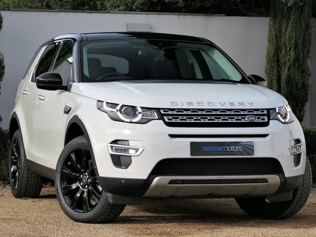 used Land Rover Discovery Sport SD4 HSE LUXURY