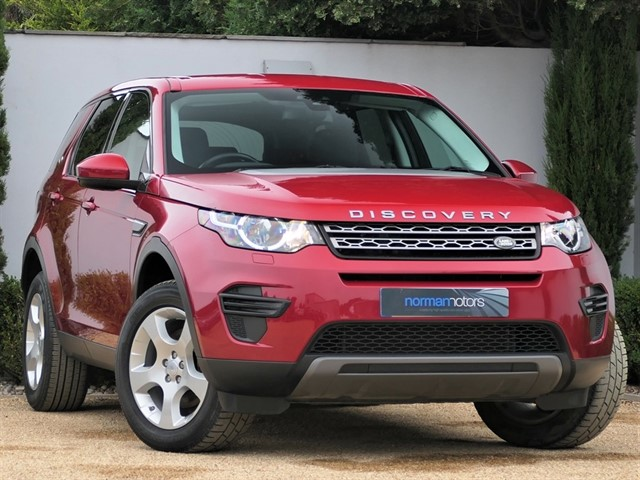 used Land Rover Discovery Sport TD4 SE