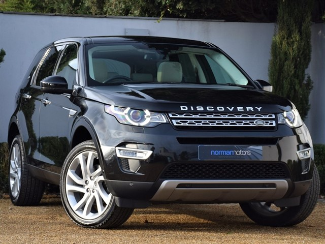 used Land Rover Discovery Sport 2.0 TD4 HSE Luxury 4WD (s/s) 7 Seat