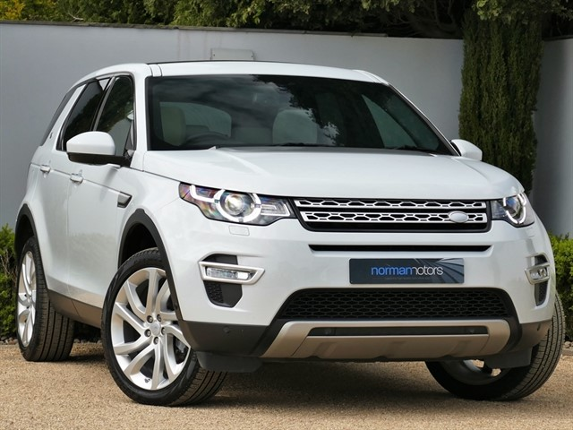 used Land Rover Discovery Sport TD4 HSE LUXURY