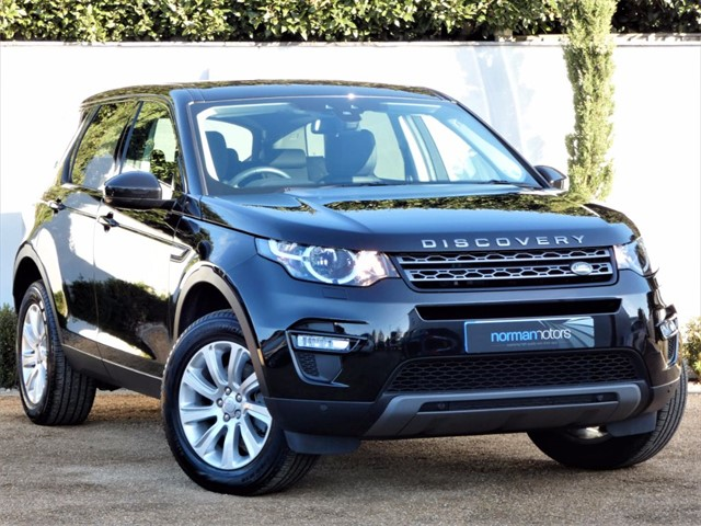 used Land Rover Discovery Sport TD4 SE TECH