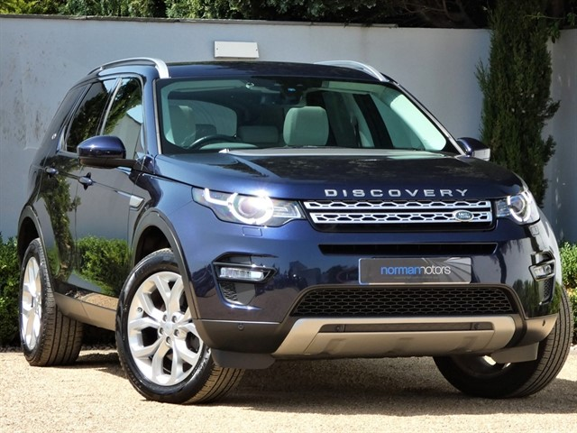 used Land Rover Discovery Sport TD4 HSE