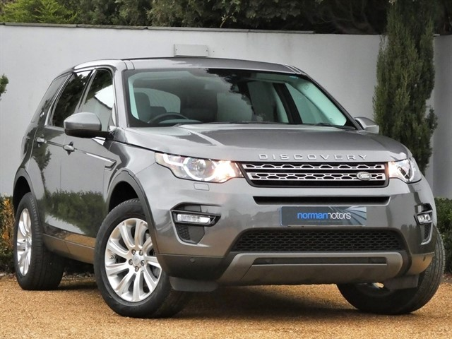 used Land Rover Discovery Sport TD4 SE TECH 7 SEAT