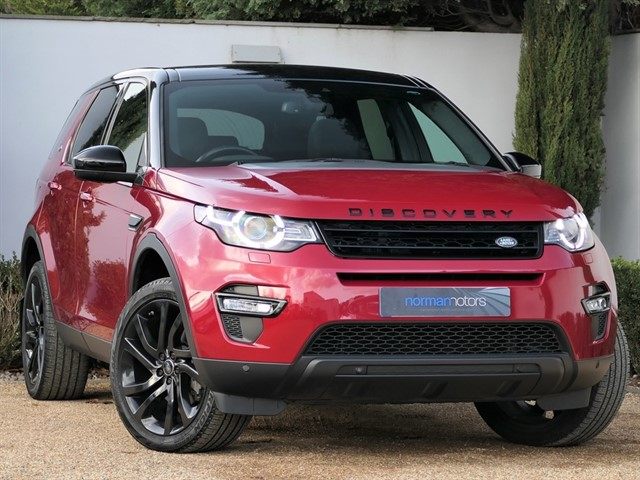 used Land Rover Discovery Sport 2.0 TD4 HSE Auto 4WD (Black Style Pack)