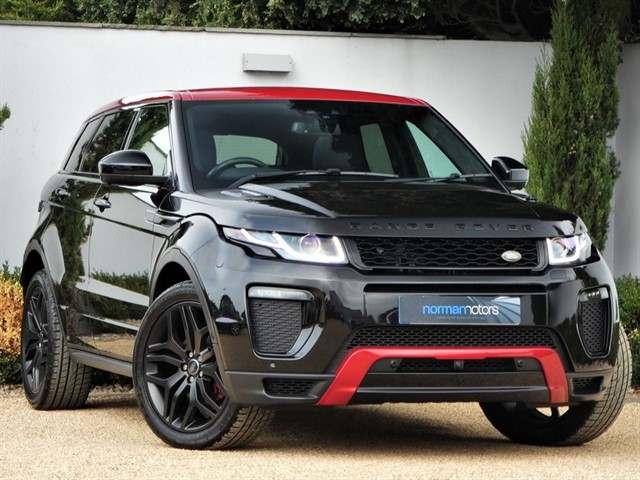 used Land Rover Range Rover Evoque TD4 EMBER SPECIAL EDITION