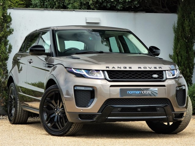 used Land Rover Range Rover Evoque TD4 HSE DYNAMIC