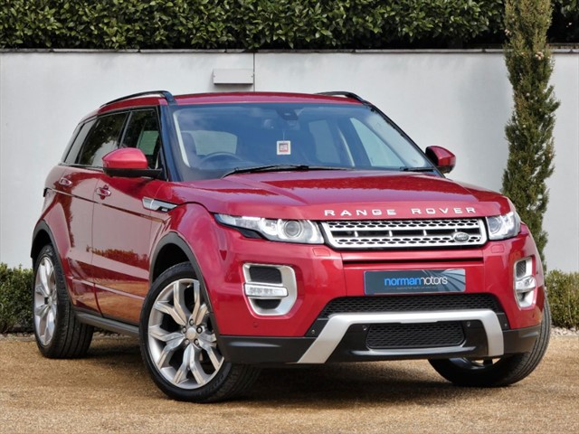 used Land Rover Range Rover Evoque SD4 AUTOBIOGRAPHY