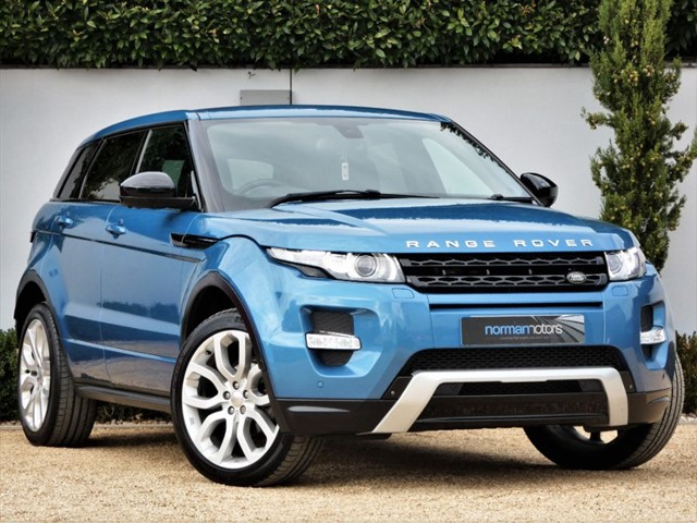 used Land Rover Range Rover Evoque SD4 DYNAMIC