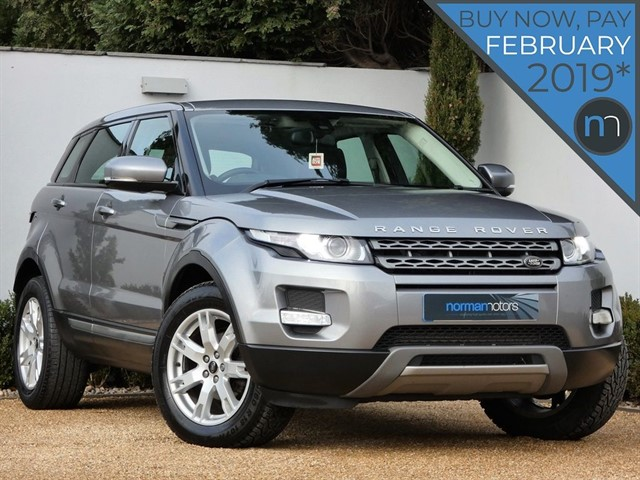used Land Rover Range Rover Evoque SD4 PURE