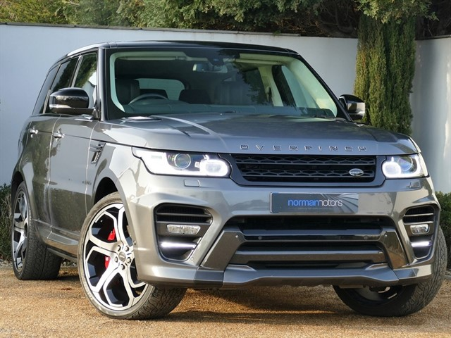 used Land Rover Range Rover Sport GENUINE FACTORY OVERFINCH